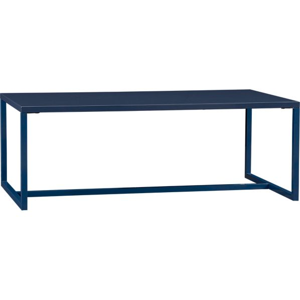 Skye Indigo Rectangular Coffee Table
