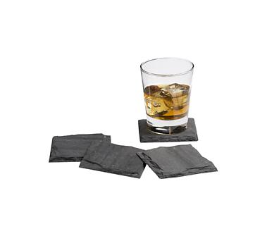Crate and Barrel - Slate Coasters shopping in Crate and Barrel Drinkware