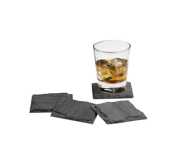 Crate and Barrel - Slate Coasters shopping in Crate and Barrel Gifts