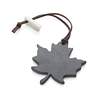 Slate Leaf Wine Bottle Tag
