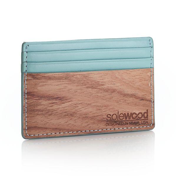 Slim Mint Card Wallet