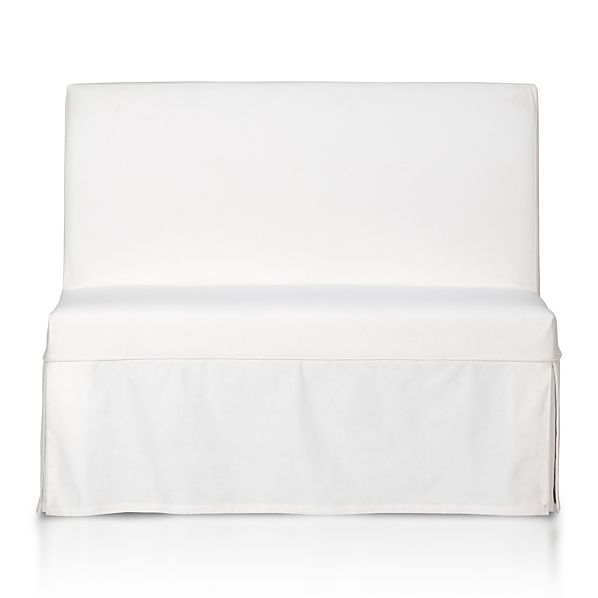 White Slipcover for Slip Bench
