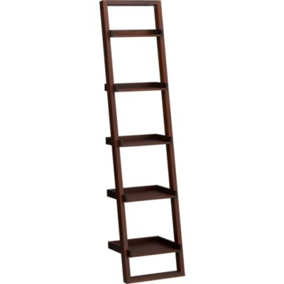 Ladder Style Wood Bookcases