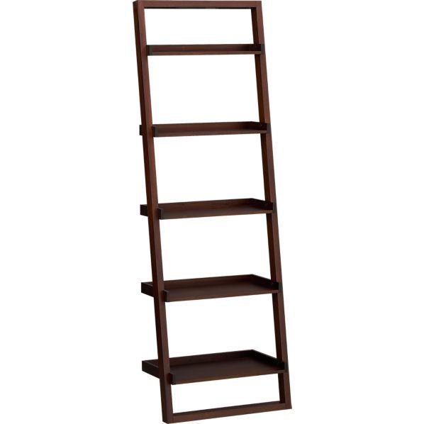 """Sloane Java 25.5"""" Leaning Bookcase"""