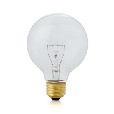 Small 40W Clear Globe Light Bulb