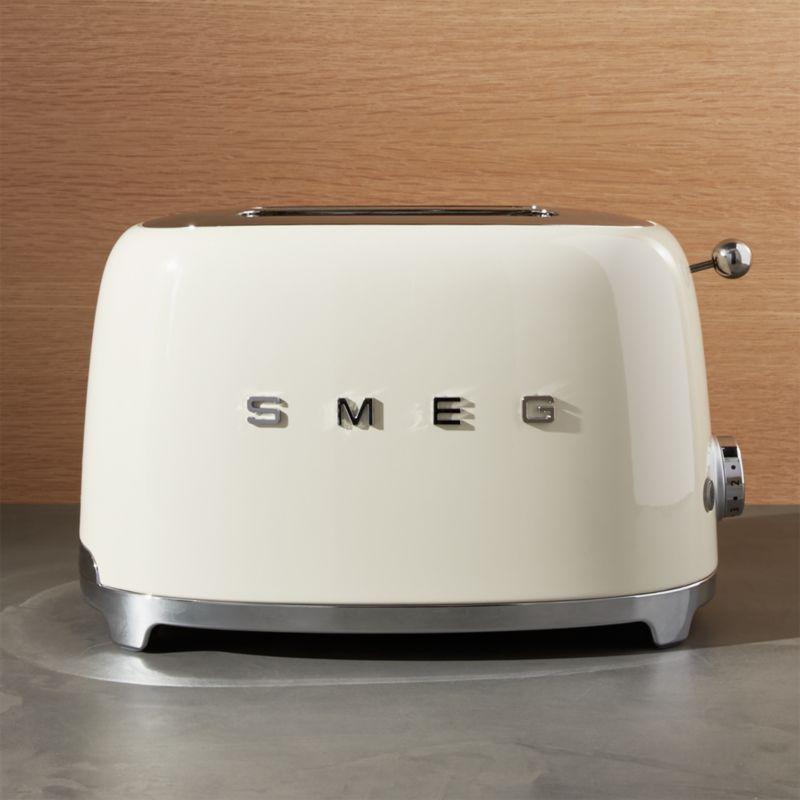 Smeg Cream 2-Slice Retro Toaster