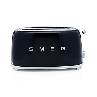 Smeg Black 4-Slice Toaster