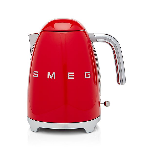 Smeg Red Retro Electric Kettle Crate And Barrel
