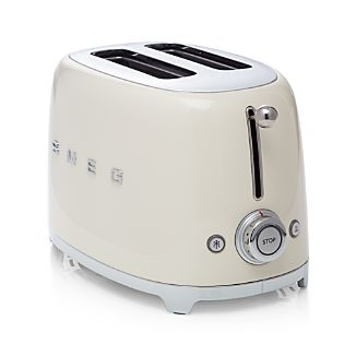 Smeg Cream 2-Slice Retro Toaster