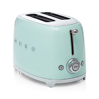 Smeg Pastel Green 2-Slice Retro Toaster