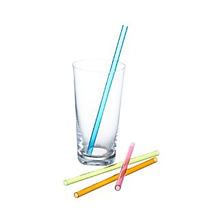 Set of 4 Smoothie Straws