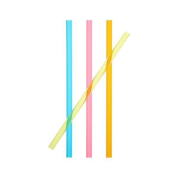 Set of 4 Smoothie Straws