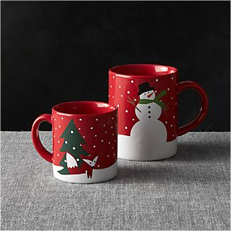 Snow Day Mugs