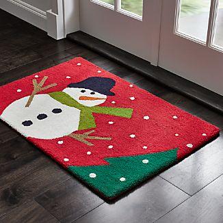 Snow Day 2'x3' Snowman Rug