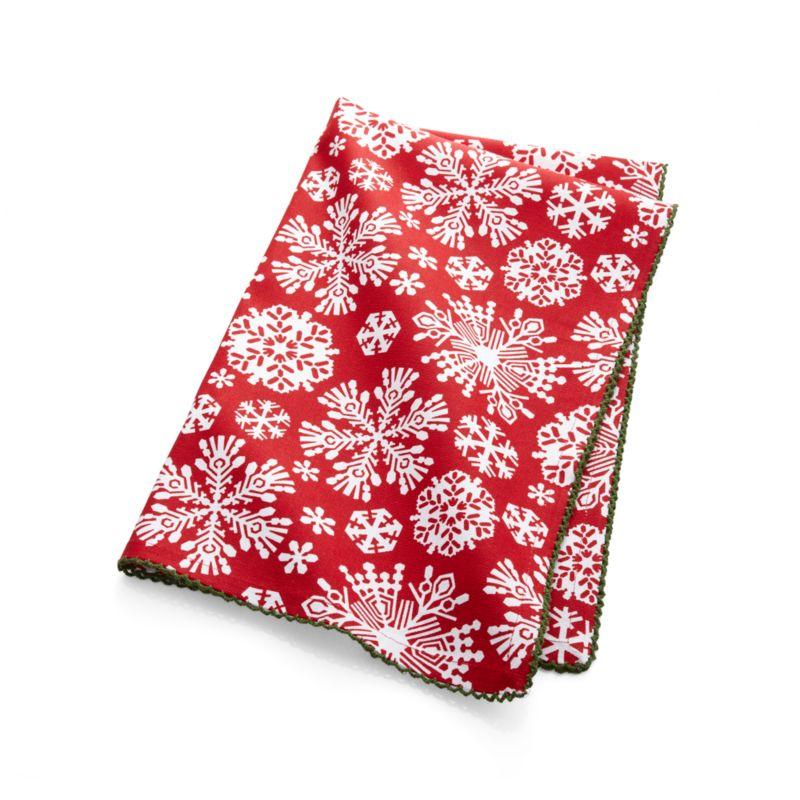 Snowflake Dish Towel