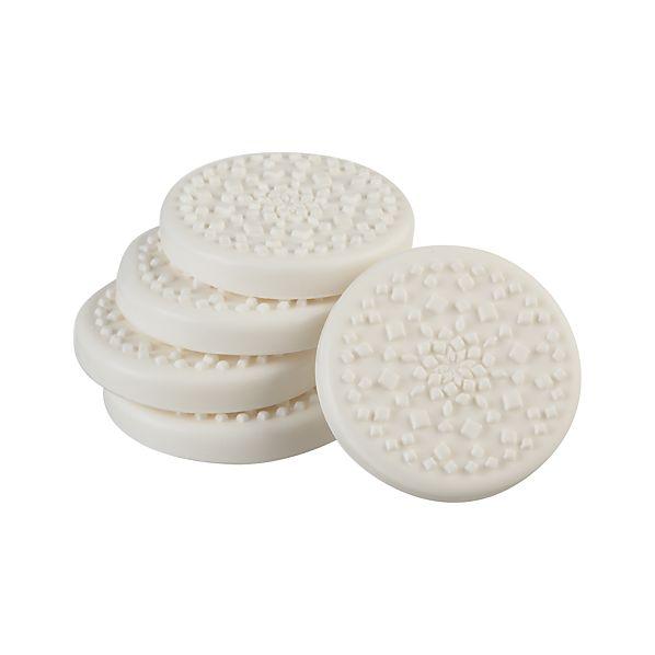 Set of 5 Snowflake Soaps