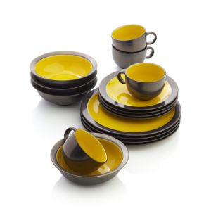 Sol 16-Piece Dinnerware Set
