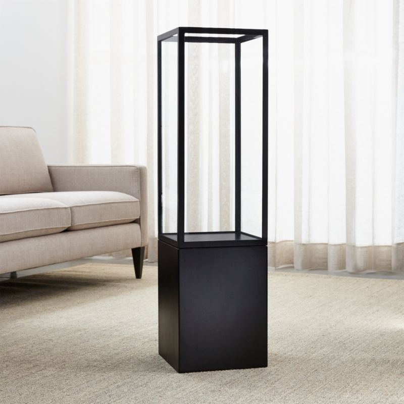 Sol Floor Hurricane Candle Holder Crate And Barrel