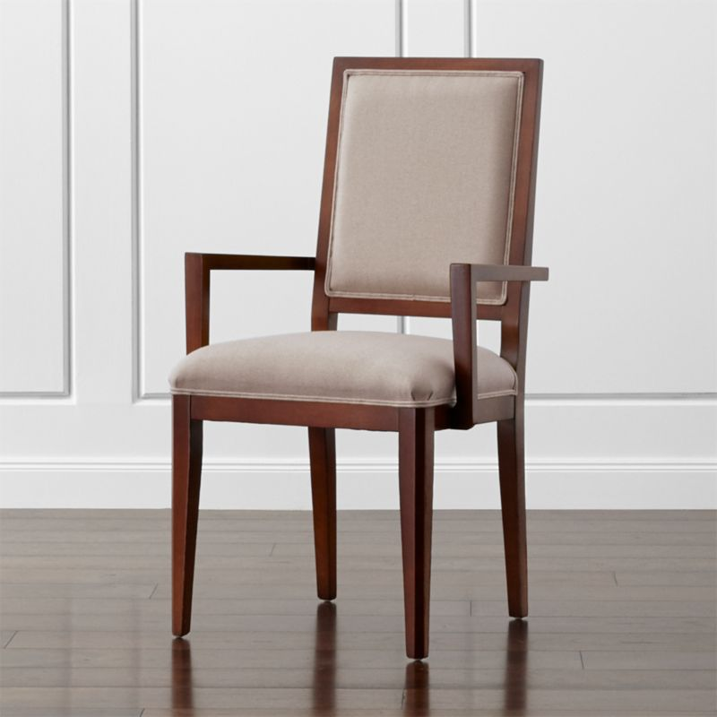 Sonata Aretina Walnut Dining Arm Chair