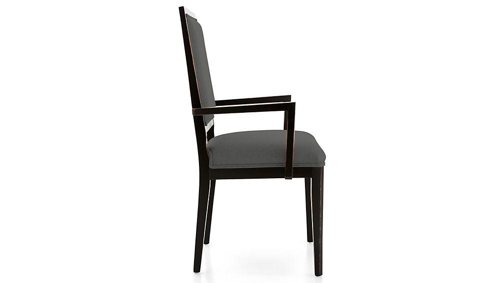 Sonata Bruno Black Dining Arm Chair