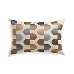 "Sosa 18""x12"" Pillow with Feather-Down Insert"