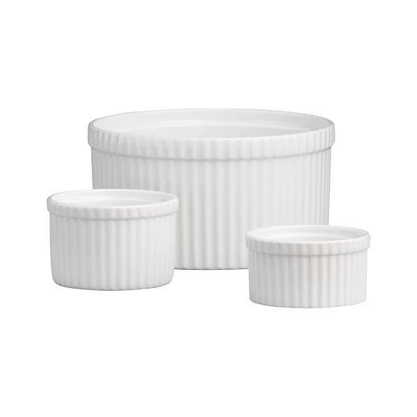 Soufflé Dish/Ramekins