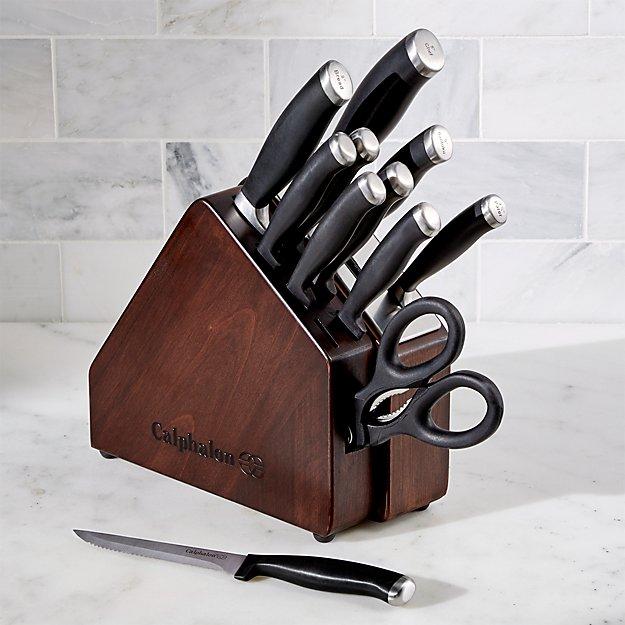 Calphalon ® Space Saving SharpIN ® 12-Piece Knife Block Set