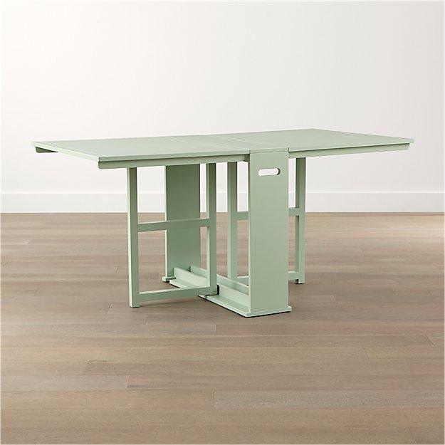 Span Mint Gateleg Dining Table