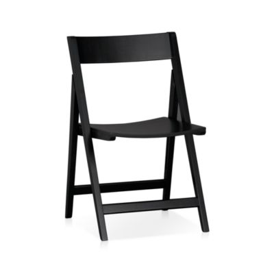 Spare Black Folding Chair