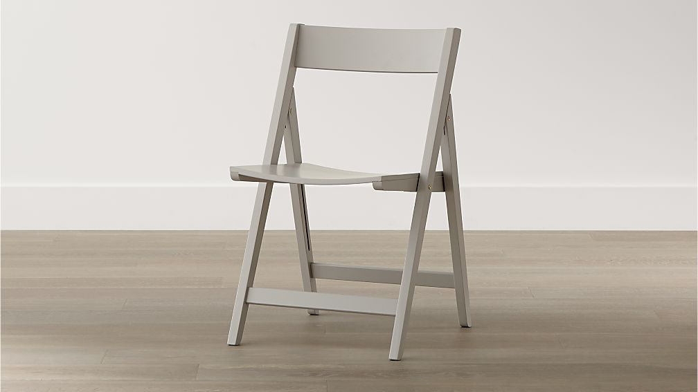 Spare Dove Folding Dining Chair in Dining Chairs Crate  : spare dove folding dining chair from crateandbarrel.com size 1008 x 567 jpeg 33kB