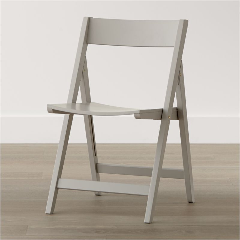 Spare Dove Folding Dining Chair