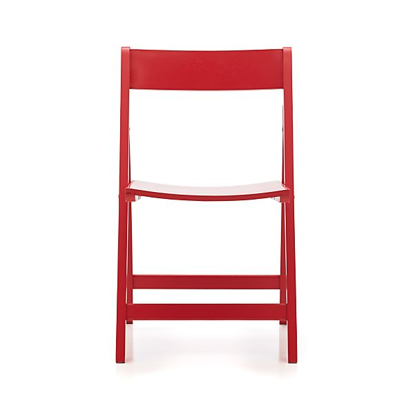 Spare Red Folding Chair