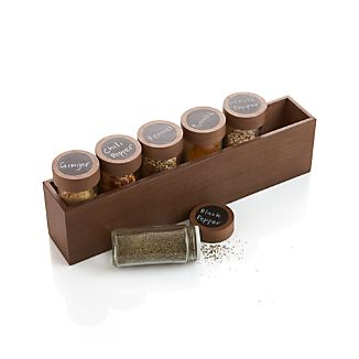 Carter 6 Bottle Spice Box