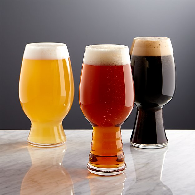 Spiegelau beer tasting glasses crate and barrel for Best place to buy craft beer online