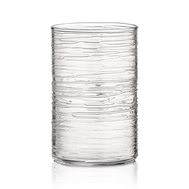 Spin Large Glass Hurricane Candle Holder/Vase