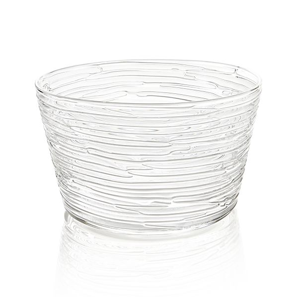 "Spin 9.5"" Glass Serving Bowl"