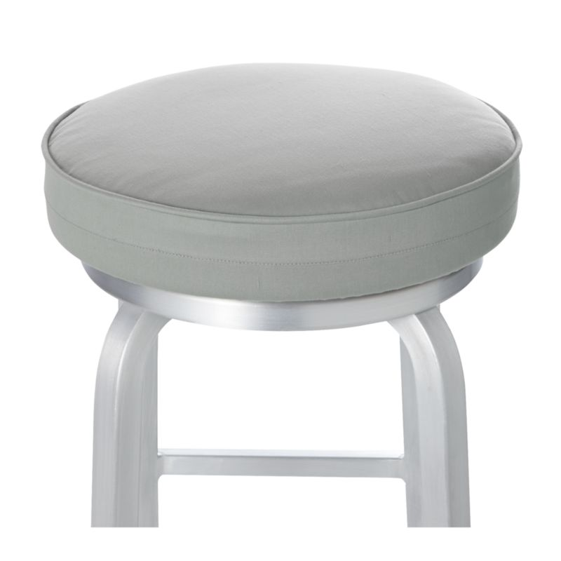 Spin Alloy Bar Stool Cushion Crate And Barrel