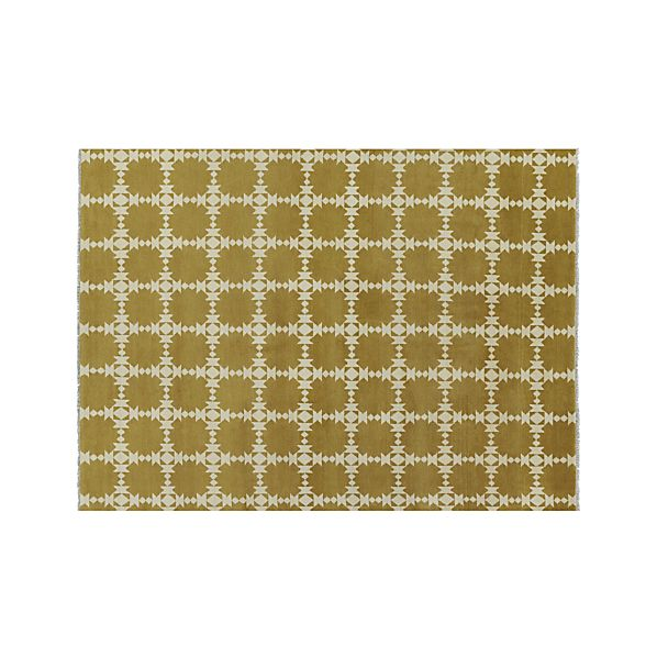 Spindle Gold 9'x12' Rug
