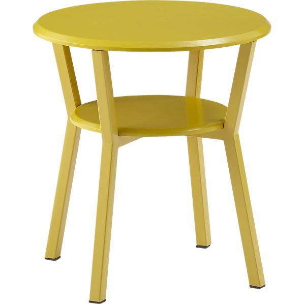 Spot Mustard Night Table