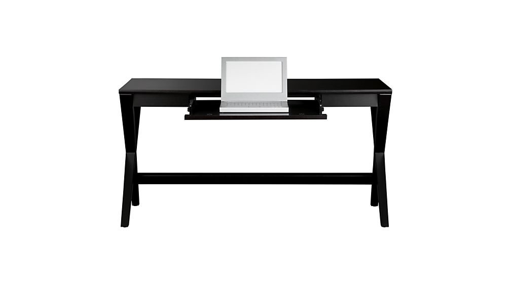 "Spotlight Ebony 58"" Desk"