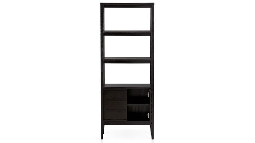 Spotlight Ebony Bookcase