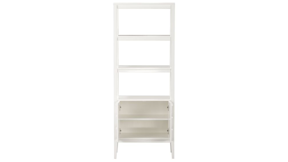 Spotlight White Bookcase