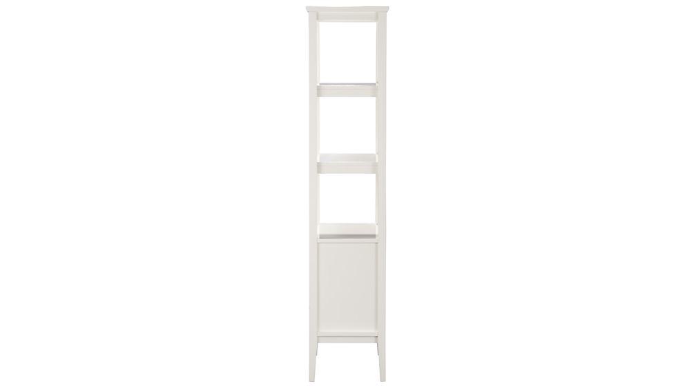 Spotlight White Bookcase