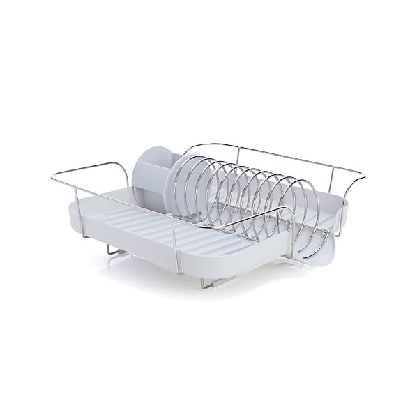 Polder ® White Spring Dish Rack