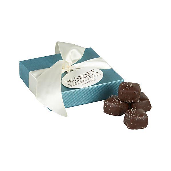 Sea Salt Dark Chocolate Caramels
