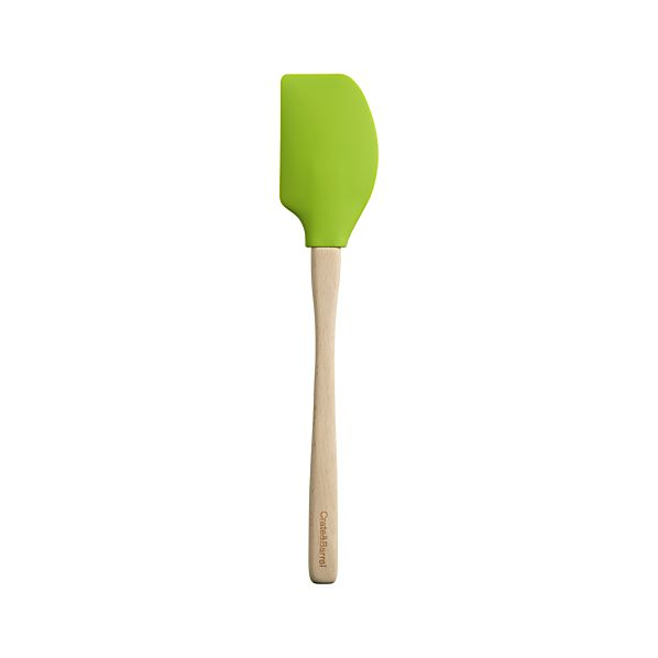 Silicone Green Spatula