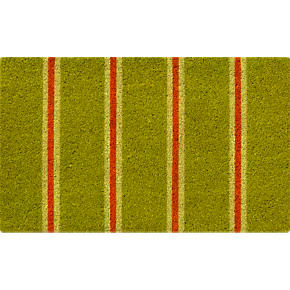 Spring Striped Doormat