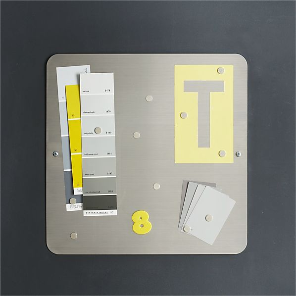 three by three ® Magnetic Stainless Board