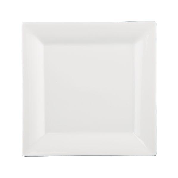 "Square Rim 10.25"" Plate"