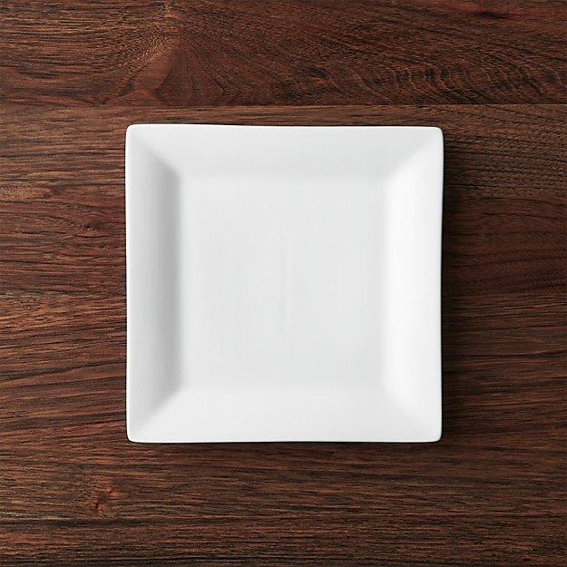 Square Rim 8.25" Plate